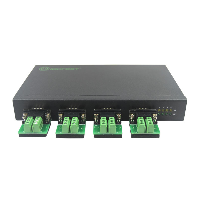 USB2.0 to 4 Port RS422/485 Adapter Convertor FTDI Chipset Serial Port Multiplier USB TO RS485 Hub hightek hk 5110a industrial grade 1 port rs232 485 to 4 port rs485 hub each port with optical isolation 600w thunder protection
