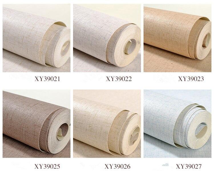Papier peint Photo Mural uni Nature rouleau de papier peint vinyle lavable en PVC pour décoration de salon