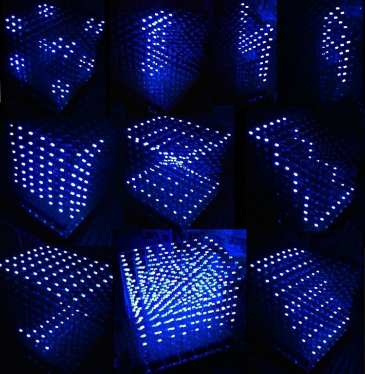 diy lighting effects. aliexpresscom buy diy 3d 8s led light cube with animation effects cube 8 8x8x8 kitsjunior3d displaychristmas gift from reliable diy lighting e