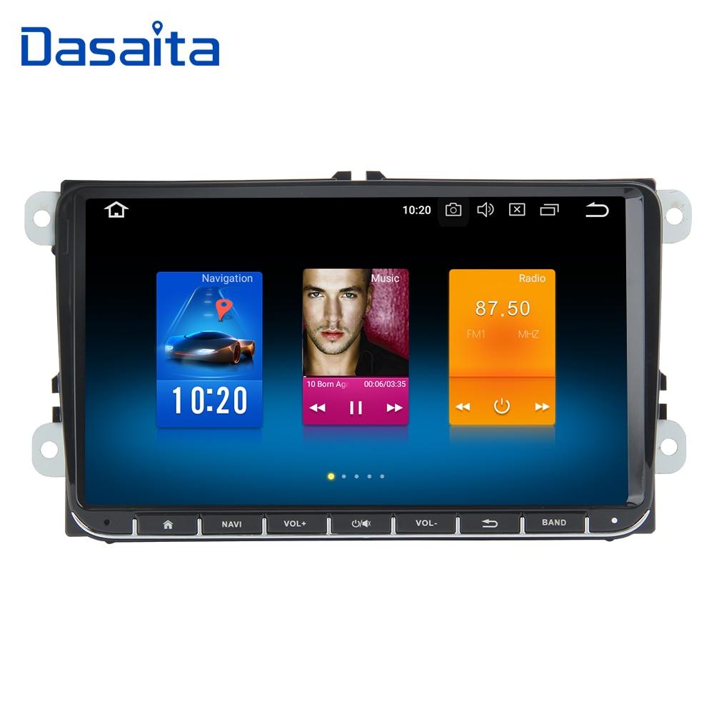 Dasaita 9 Android 9 0 Car GPS Radio Player for Seat Leon Alhambra Altea Toledo with