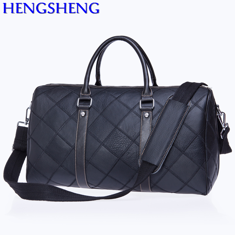 Free Shipping Casual Genuinel Leather Travel Shoulder Bags With Cow Leather Men Messengers Bag For Travelling Leather Bags