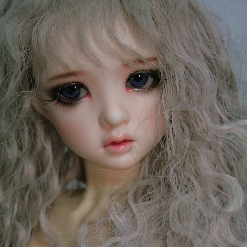 New Arrival 1/3 BJD Doll BJD/SD Beautiful Emma Resin Joint Doll For Baby Girl Birthday Gift With Free Eyes