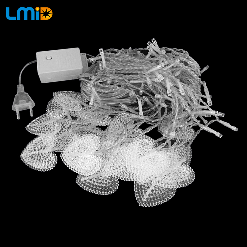LMID 4M * 0.6M 120beds Fairy String Icicle Led Curtain Light Ашық - Мерекелік жарықтандыру - фото 2