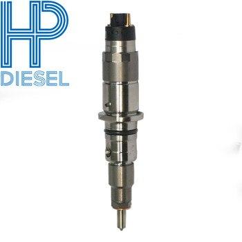6 unids/lote nuevo tipo de inyector de combustible 326-4700 para C6.4 motor común carril inyector 3264700 para CAT320D excavadora con buena calidad