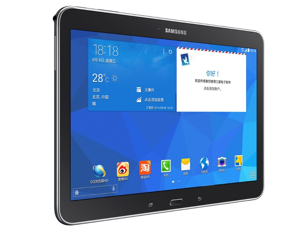Samsung Galaxy Tab 4 10.1 polegada 16 T530 WI-FI Tablet PC 1.5 gb de RAM gb ROM Quad Core 6800 mah 3.15MP Câmera Tablet Android