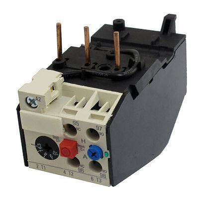 JRS2-25 10A 6.3-10A Current Motor Thermal Overload Relays 2 pin thermal overload protection