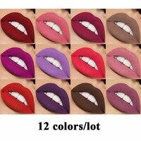 15pcs Matte Lip Makeup Waterproof Lipgloss Matte Velvet Liquid Lipstick Long Lasting Makeup Lip Gloss Maquiagem