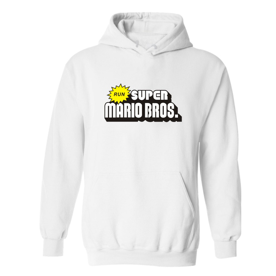 Super MarioRun Sweatshirt Men Hoodie Tracksuit Harajuku Hip Hop Hoodies Brand Clothing Mens Sweatshirts Hoody High Quality