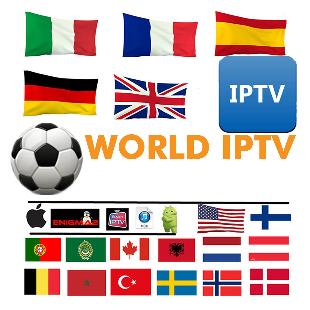 IPTV M3U Subscription G1 G3 Andorid TV Box Portugal France Arabic Spain 1080P Premium For Android Box Enigma2 Smart TV HD 4K Box