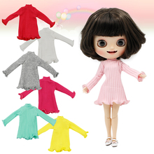 DBS blyth doll icy joint body colorful outfit winter dress toy, only dress no doll