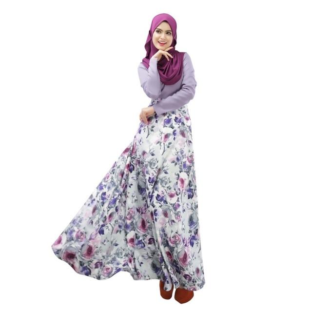 New Abaya Jilbab Islamic Muslim Women Long Sleeve Maxi Dresses Kaftan