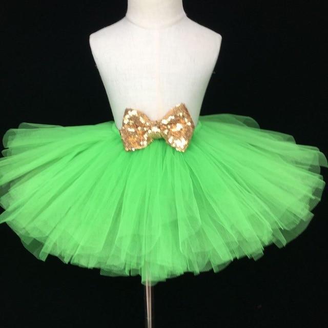 dd3047582884 Cute Girls Green Tutu Skirt Baby Fluffy Tulle Skirts Ballet Tutu ...