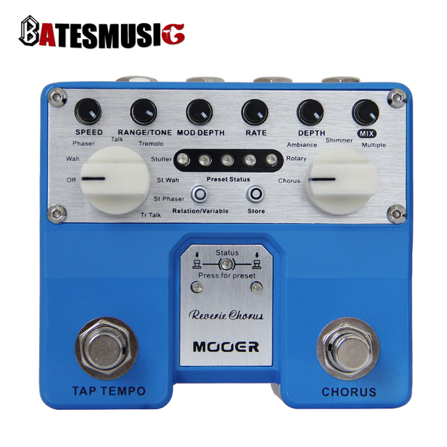 Cheap MOOER Reverie Chorus Digital Chorus pedal  Chorus, Rotary, Ambiance, Shimmer and Multiple