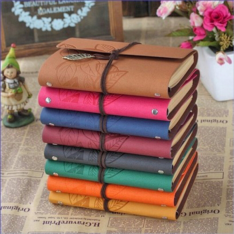 New Fashion School Supplies Notebooks High Quality Vintage Notebook Spiral Thick Personal Diary String Hardcover Planner sosw fashion anime theme death note cosplay notebook new school large writing journal 20 5cm 14 5cm
