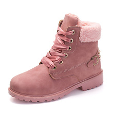 Fashion Women Boots For Martens Ankle Snow Female Winter 2019 New Bota Shoes