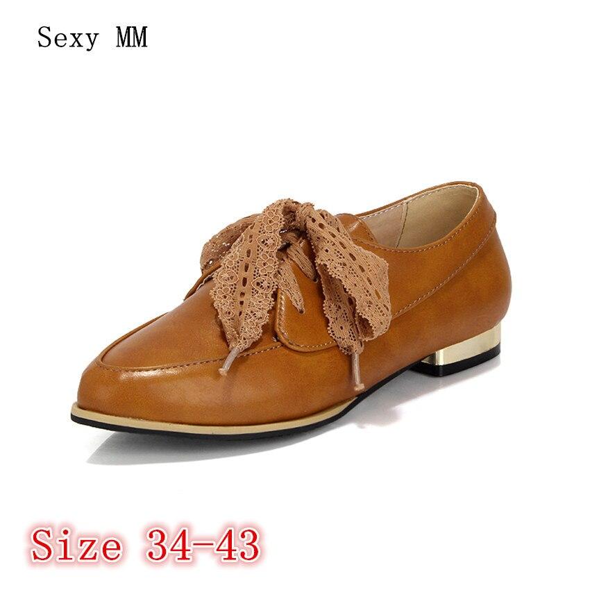ff9060fee65f2 Richelieus 41 43 Mocassins Plus Confortable Plates Femmes Noir La 40 Femme  orange Taille Doux 34 Casual Chaussures Appartements ...