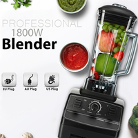 G5200 1800W Rpm 36000 peak 2L Mixer Blenders EU/US/AU 6 Blades Create Friction Heat Stainless Steel Overcurrent Protection