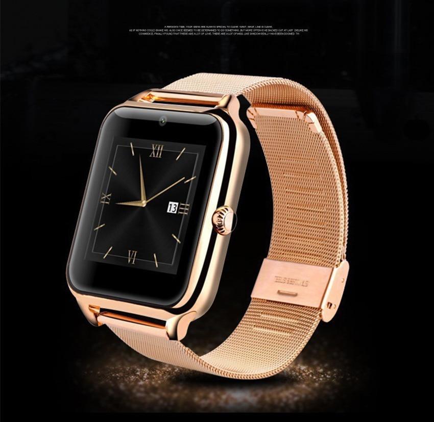 bluetooth Smart Watch Z50 Luxury Men Women wristband Support SIM TF Wearable Devices Sports