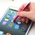 Aluminio/peso ligero de plástico de alta calidad capacitiva universal lápiz táctil para ipad iphone todos los teléfonos móviles tablet