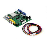 GBS 8220 CGA/EGA/YUV/RGBS to VGA HD Video Converter Board New Arrival