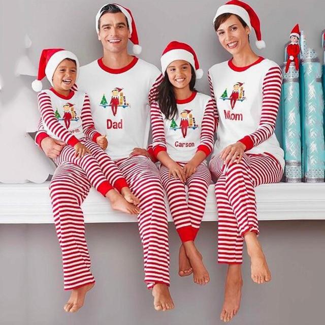 Familia Navidad Conjunto De Pijamas Adulto Caliente Ninos Ninas Nino