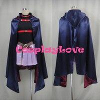 New Custom Made Japanese Anime Magical Girl Lyrical Nanoha Fate Testarossa Fitter Cosplay Costume For Halloween