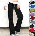 1 pcs revender moda algodão populares calça casual dança calças compridas calças de salão + 2 pcs faixa de cabelo