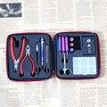 Не Катушки мастер, но хорошее качество катушки джиг набор инструментов для RDA РБА бак для электронной сигареты
