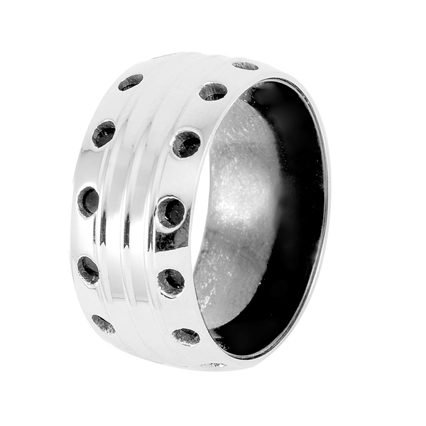 CA 34 Simple Matt 316L Stainless Steel Rings for Women jewelry wholesale Party Gift jewelry for