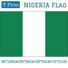 Free shipping Flag Of Nigeria 90*150cm/60*90cm/15*21cm National Day 3x5ft Hanging Flag 30*45cm Car Flag free shipping somalia national flag 90 150cm 60 90cm 30 45cm car flag 15 21cm 3x5ft hanging flag