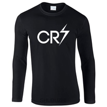 Ronaldo Long Sleeve T-Shirt CR7 Christiano Men Boys Cool o-neck tee shirt xmas Gift