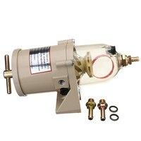 Heizung Kraftstoff filter wasser separator kunststoff Keine original Racor Turbine 500FH/H diesel motor Ersatz 2010PM-in Kraftstoffpumpen aus Kraftfahrzeuge und Motorräder bei