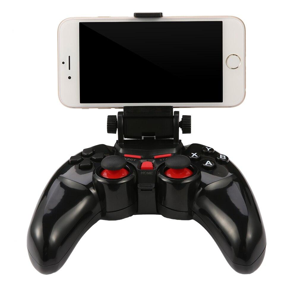 Nouveau TI-465 Sans Fil Android Bluetooth Gamepad DOBE Jeu Contrôleur Joystick Pour Android iOS PC avec Support de Téléphone portable Gamepads