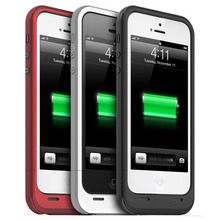 2100mAh power pack External Back Portable Mobile Charger Backup Battery protect Case For iphone 5 5s