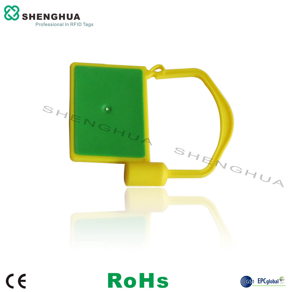 10pcs/pack High Security Tamper Evident UHF RFID Seal Zip Tie Smart Cable Tag For Tracking Management