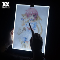 Portable A4 LED Light Copy Board Cartoon Copy Painting Touch Pad Brightness Control Tracing Pad Drawing