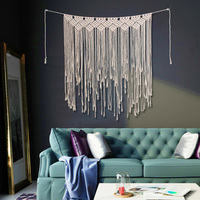Bohemian Hanging Tapestry For Living Room Bedroom Wedding Party Decoration Hand Weaving Hanging Tapestry 115*135cm