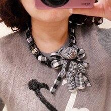 N102 ОСО испанский медведь ювелирные изделия Роскошный бренд известный ювелирные изделия ожерелье колье Макси короткая большая бижутерия ожерелья для женщин