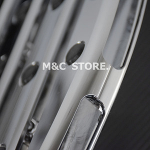 Image 5 - Chrome Front Driver Floorboards Foot Pegs Stretched Pedal For Harley Touring Road King Glide Softail Dyna Street FLH FLST FLD