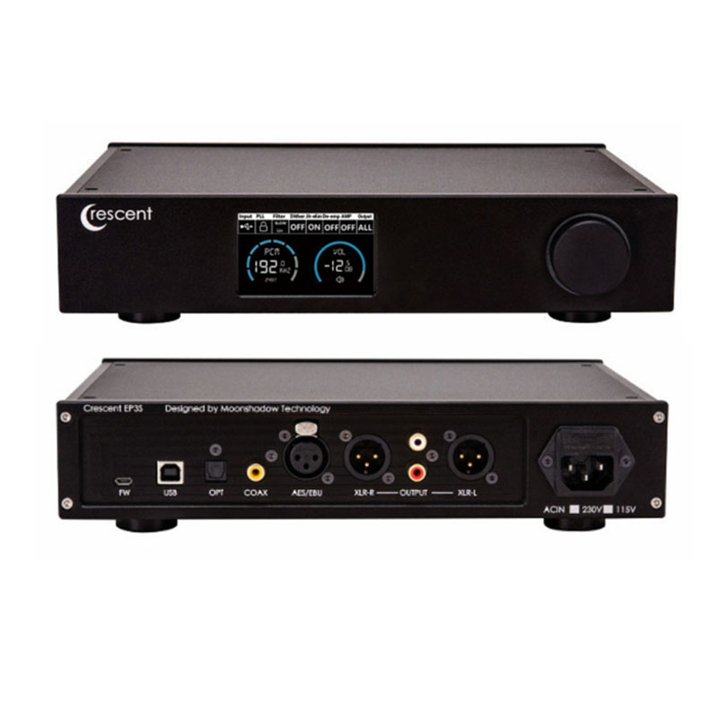 Crescent Ep3 Verstärker Audio Usb Dac Dsd Xmos Es9038 Decoder Verstärker Dac Amp Amplificador Audio Unterhaltungselektronik Digital-analog-wandler