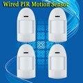 Frete grátis! 4 pçs/lote infravermelho pir motion sensor detector wired rfi emi esd proteção contra raios pcb fácil bloqueio
