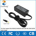 19 V 1.58A 30 W AC power adapter para Acer aspire One AOA110 AOA150 ZG5 ZA3 NU ZH6 D255E D257 D260 5.5 mm * 1.7 mm