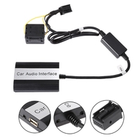 Free shipping Handsfree Car Bluetooth Kits MP3 AUX Adapter Interface For RD4 Peugeot CITROEN