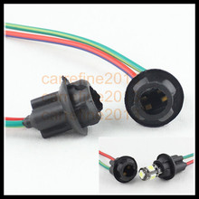 20pcs t10 168 194 wiring harness soft bulb socket plug and play inserted holder adapter