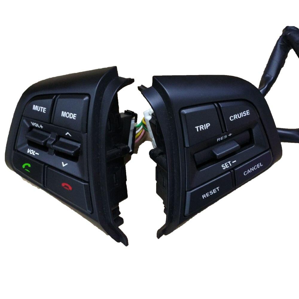 Steering Wheel Cruise Control Buttons Remote Control Volume Button For Hyundai ix25 (creta) 1.6L коврики в салонные ниши синие ix25 для hyundai creta 2016