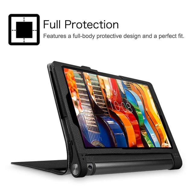 Ultra Slim Funda YOGA Tab 3 10 YT3-X50M YT3-X50f Case Cover for Lenovo YOGA Tab 3 10.1 X50F X50M 10.1 Flip Flio Case ZA0H0064US 3