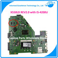 Para asus laptop motherboard rev2.0 com i5-4200u x550ld mobo notebook 90nb04t0-r00070 pm mainboard não-integrado totalmente testado
