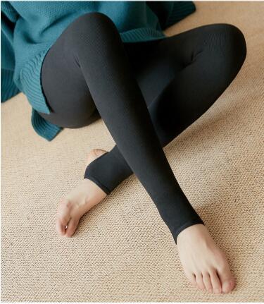 Ms qiu dong season warm outside wear   leggings   trample feet pants even foot trousers-ZH-215