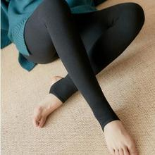 Ms qiu dong season warm outside leggings trample feet pants even foot trousers-ZH-215