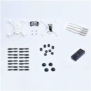 Accident Pack pour Hubsan H107D + RC Quadcopter H107D +-13
